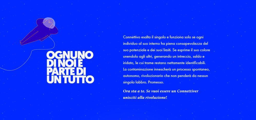 Screenshot del sito web connettivo.it